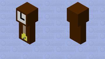 OLD GRAND FATHER CLOCK Minecraft Mob Skin