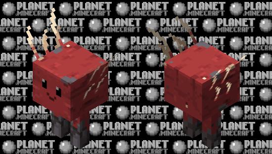 Good boi strider Minecraft Skin