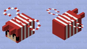 candy canes // 𝓵𝓲𝓵𝔂 𝓫 Minecraft Mob Skin