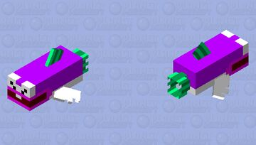 cheep chomp (super mario) Minecraft Mob Skin