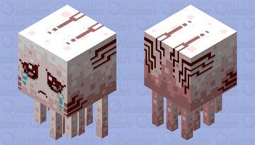 Bubblegum Ghast Minecraft Mob Skin