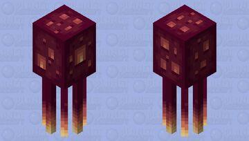 Giant jellyfish Minecraft Mob Skin