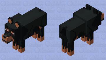 Zeus (Rotterman Dogo) Minecraft Mob Skin