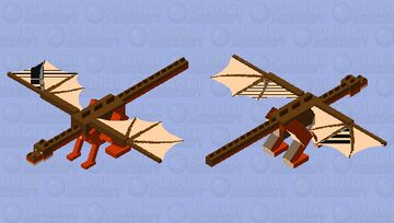Clay Dragon (Wings of Fire Ender Dragon Skin) Minecraft Mob Skin