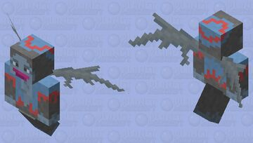Flying Monkey from (Dorothy and the Wizard of Oz) Minecraft Mob Skin