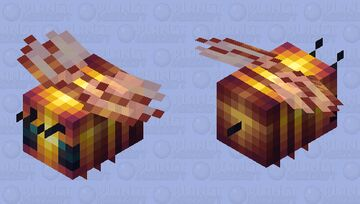 There's a Bee?! - Bee Minecraft Mob Skin
