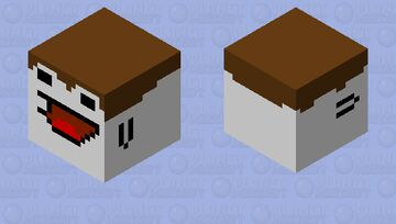 ITS A DERP FACE!!!!!!!!!!!!! Minecraft Mob Skin