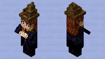 Hermione Granger (with Sorting Hat) Minecraft Mob Skin