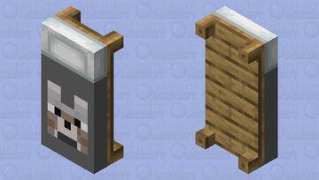 Wolf bed Minecraft Mob Skin