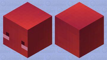 Cute Magma Cube (rainbow inside) Minecraft Mob Skin