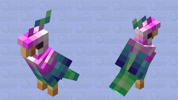 A request.. From my Mommy? - Parrot Minecraft Mob Skin