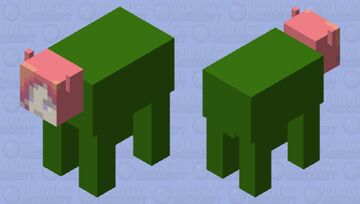 kakyoin cow - popreel Minecraft Mob Skin