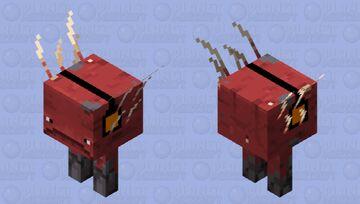 Jammin' to Pigstep (Strider) Minecraft Mob Skin