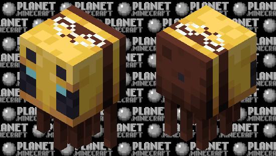 A Very Beeghast Minecraft Skin