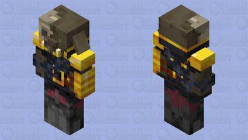 Husk Zombified Piglin Warrior Minecraft Mob Skin