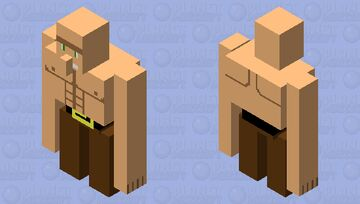 buff guy Minecraft Mob Skin