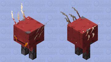 Sad Strider - Lava Minecraft Mob Skin