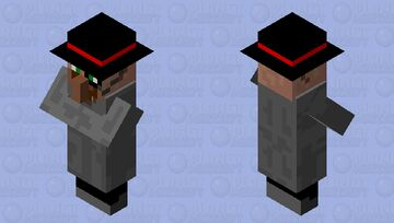 Fancy Villager Minecraft Mob Skin