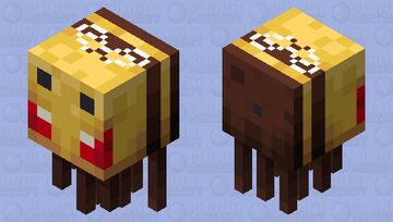 A Very Angry Beeghast Minecraft Mob Skin
