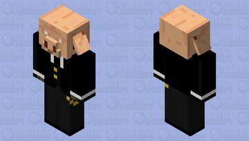 Fancy Piglin Minecraft Mob Skin