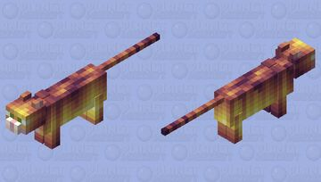 I am Speed - Ocelot Minecraft Mob Skin
