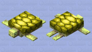 Turtle Minecraft Mob Skin