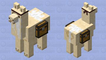 The ninja llama Minecraft Mob Skin