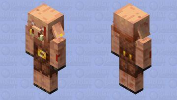 Piglin alternative 2 Minecraft Mob Skin