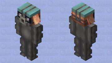 Careful quarantine piglin Minecraft Mob Skin