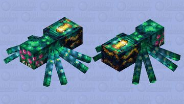 Xunkiira - Arachnid Guardian of the Emerald Cavern Minecraft Mob Skin