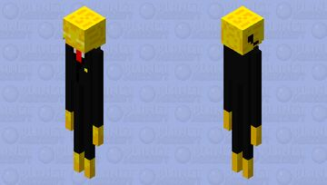 Golden Guard Enderman   Mission Uncraftable Series Minecraft Mob Skin
