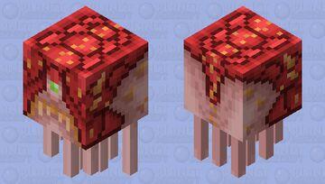 Doom 2016 Cacodemon Minecraft Mob Skin