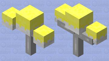 Flying chandelier Minecraft Mob Skin