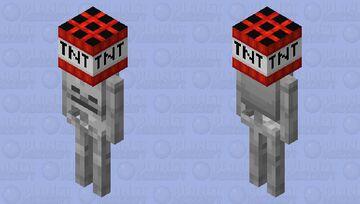 TNT Yeeter Minecraft Mob Skin