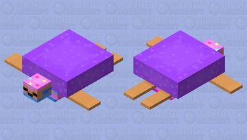 Cupcake catastrophe ~turtle mob skin contest~ Minecraft Mob Skin