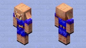 Piglin of the culte Minecraft Mob Skin