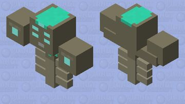 Moon Lord Wither Minecraft Mob Skin