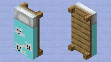 kittens bed Minecraft Mob Skin