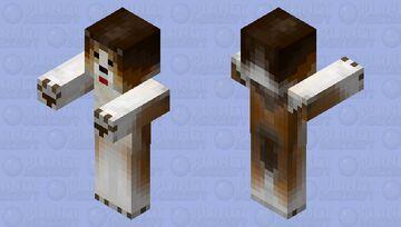 Collie dog Minecraft Mob Skin