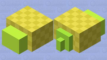 Smol Snail Minecraft Mob Skin
