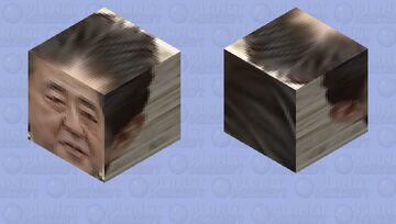 Shinzo Abe Minecraft Mob Skin