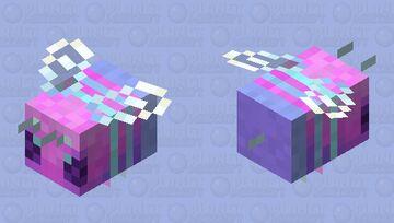 Retro Bee! Minecraft Mob Skin