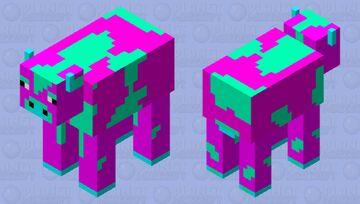 Neo Crazy Cow Minecraft Mob Skin