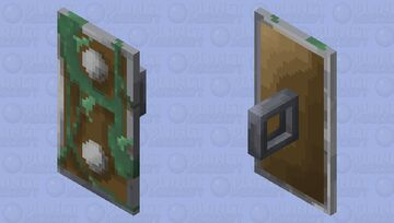 Vine Covered Shield Minecraft Mob Skin