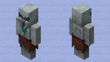 Sea king illager Minecraft Mob Skin