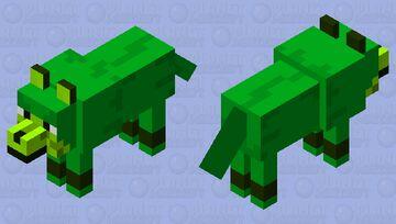 Earth wolf Minecraft Mob Skin