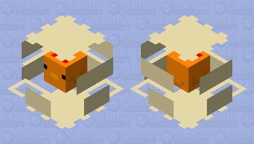 Chicken inside of cracked egg Minecraft Mob Skin