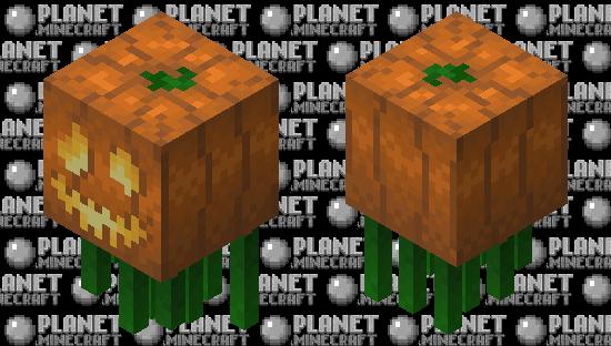 Pumpkin King Ghast Minecraft Skin