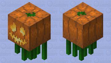 Pumpkin King Ghast Minecraft Mob Skin