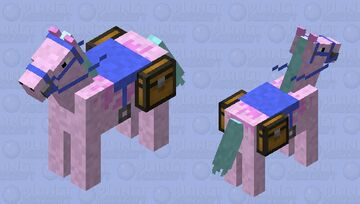 Unicorn Minecraft Mob Skin